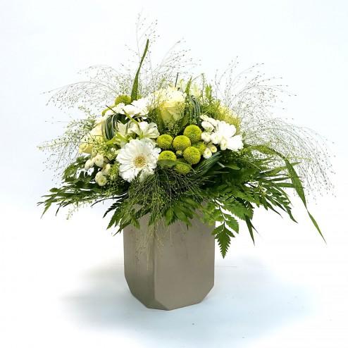 Bouquet Innocence par votre Fleuriste à Marseille