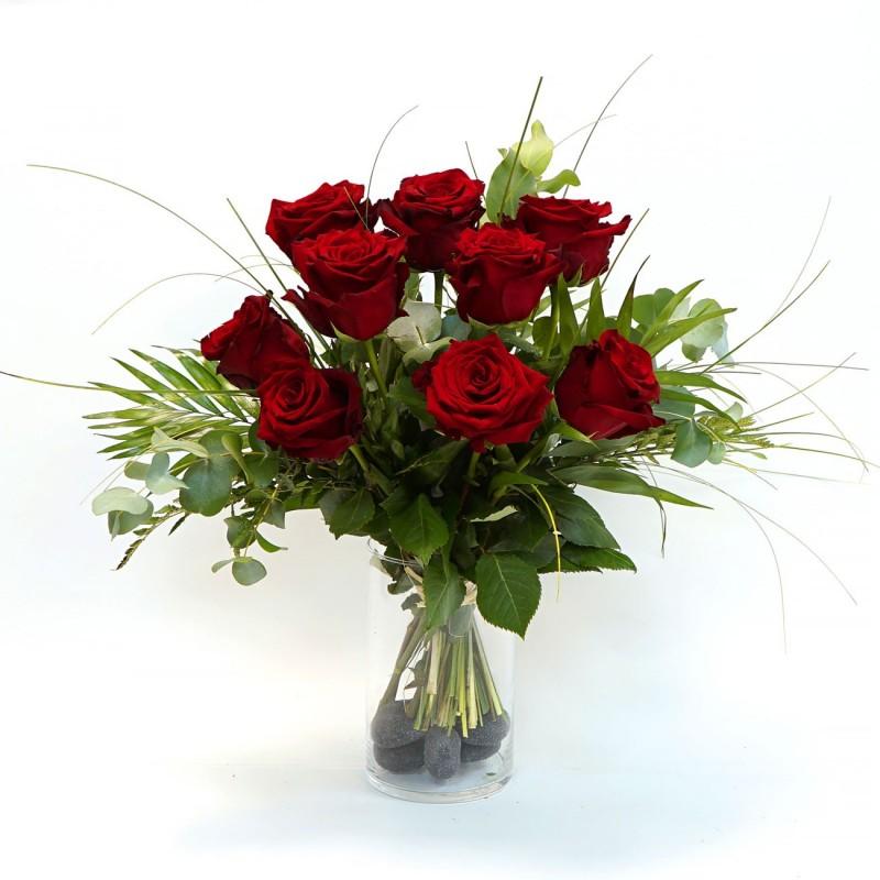 Roses rouges par votre fleuriste à Marseille